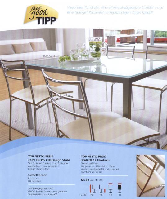 glastisch glastische satiniert beschichtet kantinentisch. Black Bedroom Furniture Sets. Home Design Ideas